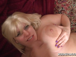 Blonde BBW Tiffany Blake Chubby Heavy Pair POV