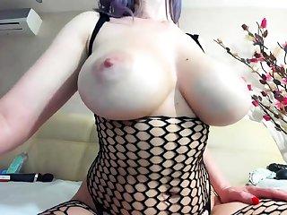 Lingerie Hottie Pussy Masturbation Close up scene