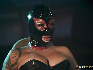 dispirited and costumed Ivy Lebelle adores sex kinky games with a affiliate