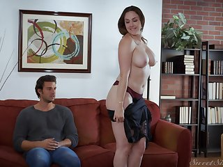 Be in charge MILF Chanel Preston pounded ecclesiastic and rides cock