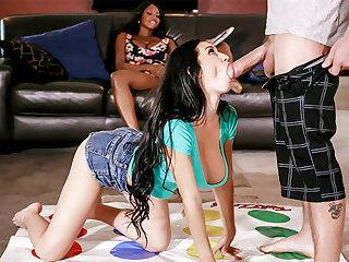 Stepmom threesome sex wide stepdaughter's boyfriend