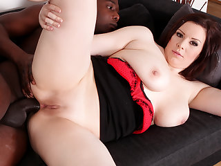 MILF Carol Wings Stretches Her Asshole in the matter of a Toy Before Taking BBC