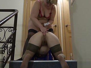 lesbian, anal respecting a baseball bat!