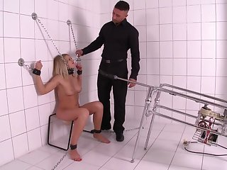 Serious sex machine and lasting cum are favorite things for Lucy Heart