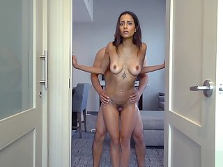 Razor-sharp Milf Stepmom And Stepson Have A Weird Blind Sex