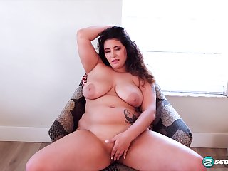BBW beauty Christy Sparks unparalleled video