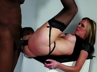 Sweet grown up enjoys the black dick more that so so