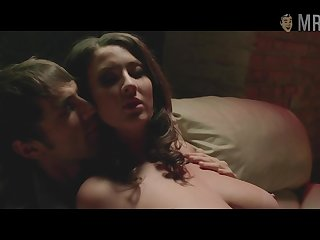 Jessica Paré in the buff scenes compilation video
