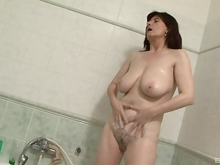 Dirty mature wife Janicka loves having sex up a huge black rod